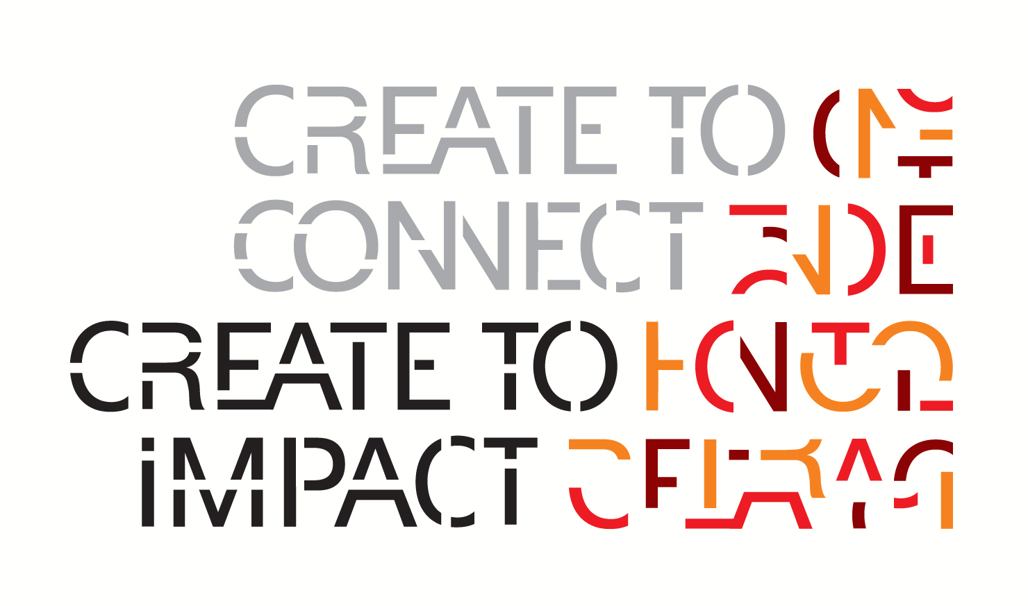 Afbeeldingsresultaat voor create to connect create to impact